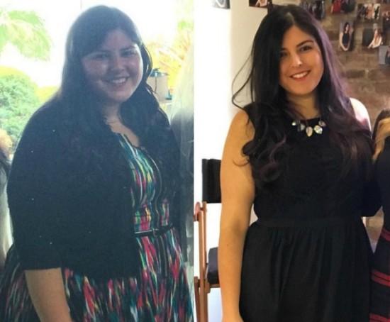 Το κορίτσι που έχασε 40 κιλά με 8 απλούς τρόπους