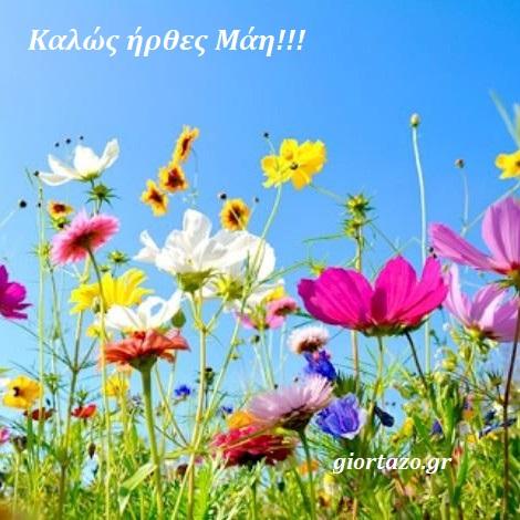 Μάιος ή Μάης ... Καλό μήνα σ' όλους.!