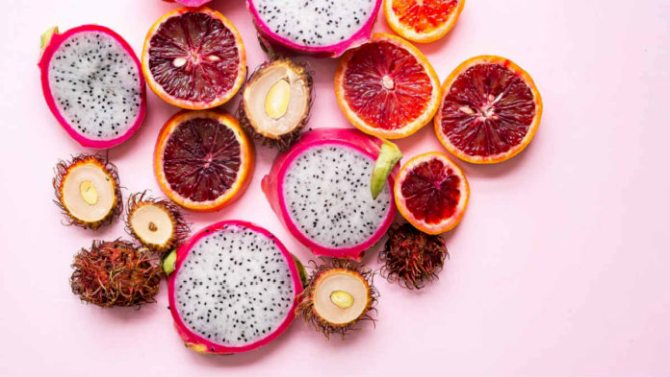 Χρώματα φρούτων και οφέλη