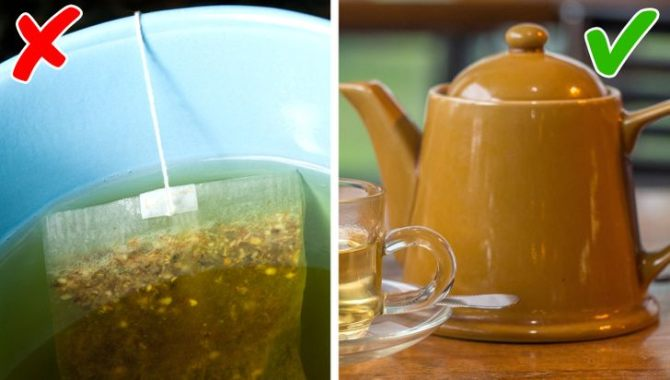 Εκχυλίστε το τσάι από βότανα