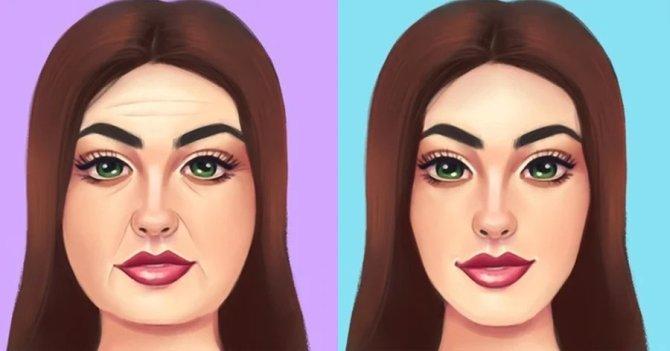 Όμορφο πρόσωπο: Φυσικοί τρόποι για μείωση ρυτίδων, σύσφιξη προσώπου και απαλλαγή από σημάδια χωρίς επεμβάσεις