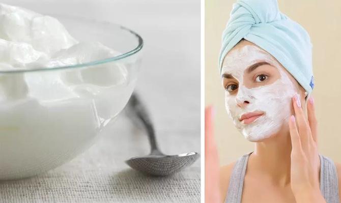 Μάσκα με γιαούρτι και προβιοτικά