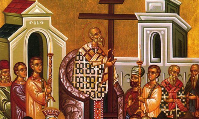 Read more about the article Αύριο τιμάται η ύψωση του Τιμίου Σταυρού: Τί ακριβώς γιορτάζουμε