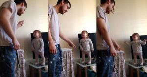 Όταν ο μπαμπάς μαλώνει την μικρή αλλά τσαούσα κόρη του