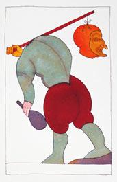 """Ugo Pierri: """"Tarocchi - Il Matto"""" (serie; anno 1987)"""
