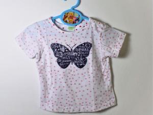 shirtje met vlinder maatje 80 gks