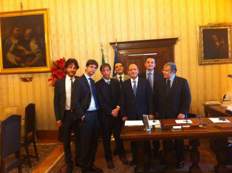 Il Presidente Schifani e i giovani medici