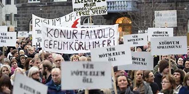 """Lezioni dall'Islanda: """"Il vostro debito non lo paghiamo"""""""