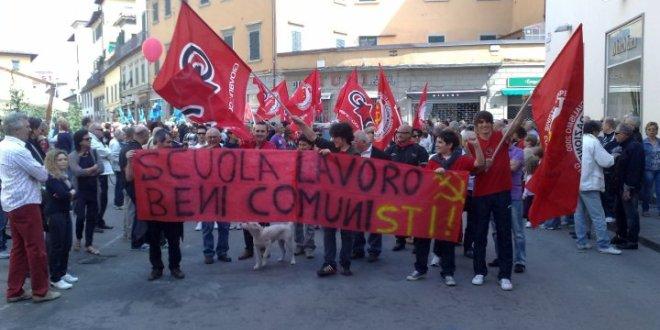 """Il coordinamento GC: """"Il nostro impegno per lavoro, Legge 30 e solidarietà a Tizian"""""""