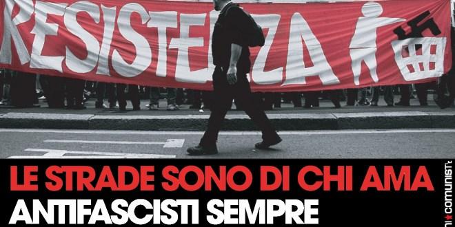 Solidarietà al compagno Daniele Maffione e buon 25 aprile a tutte e tutti!