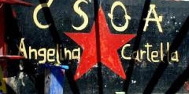 Attentato neofascista al CSOA Cartella di Reggio Calabria