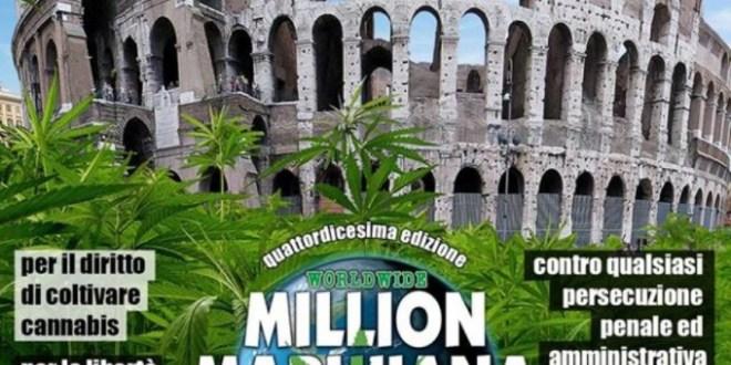 TORNA LA MILION MARIJUANA MARCH