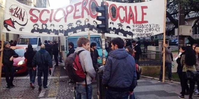 I mille volti dello sciopero sociale