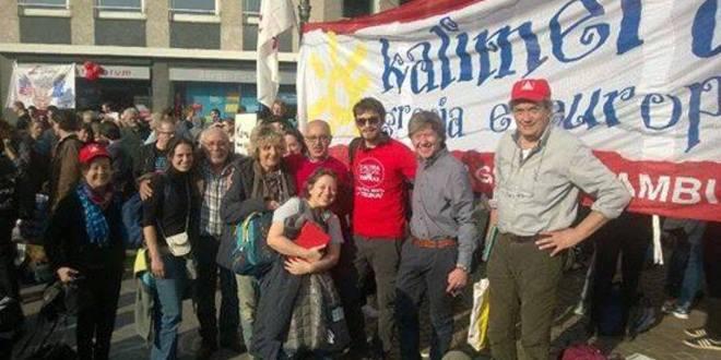 Dalla parte dei manifestanti #Blockupy #18m a Francoforte