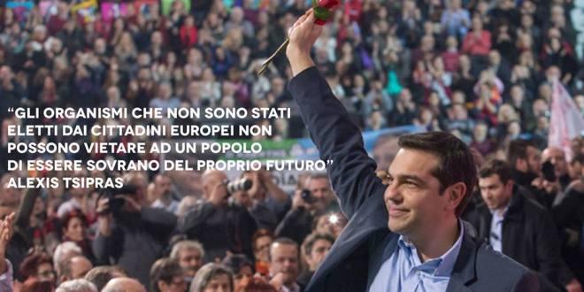 Sosteniamo il governo e il popolo greco!