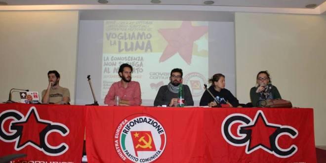 Documento finale della V Conferenza nazionale delle/dei Giovani Comuniste/i