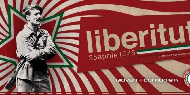 Verso il 25 aprile, per una nuova Liberazione dell'Italia