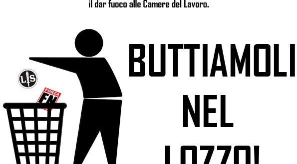Giovani Comunisti/e Massa-Carrara: No a Lotta Studentesca il Primo Maggio, fuori i fascisti dalle nostre città!