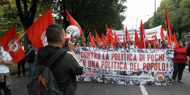 Giovani Comunisti/e #NoG7Bergamo Contro la politica di pochi, per una politica del popolo!