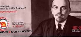 Giovani Comunisti/e: I 10 giorni che sconvolsero il mondo!