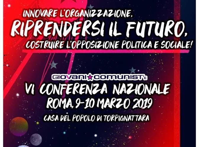 Sesta Conferenza Nazionale GC: Una nuova generazione per liberare il futuro dalle vecchie ingiustizie!