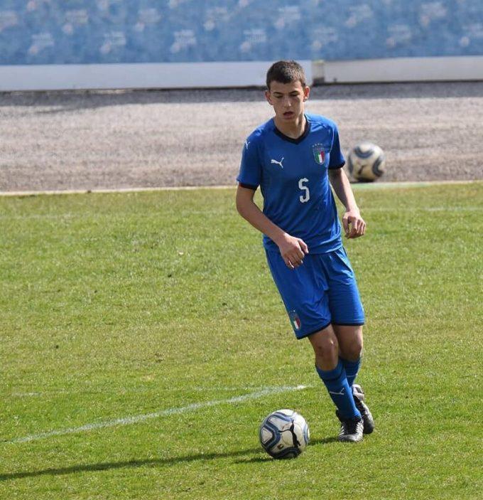 Calciomercato Motolese Mattia in nazionale in campo