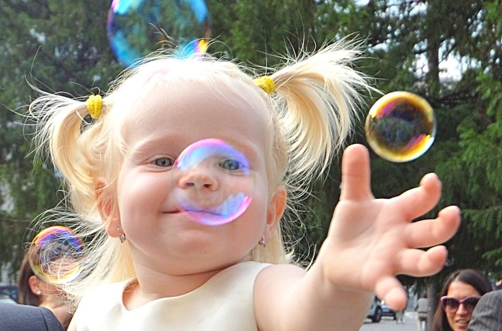 Le bolle di sapone stimolano il ragionamento scientifico