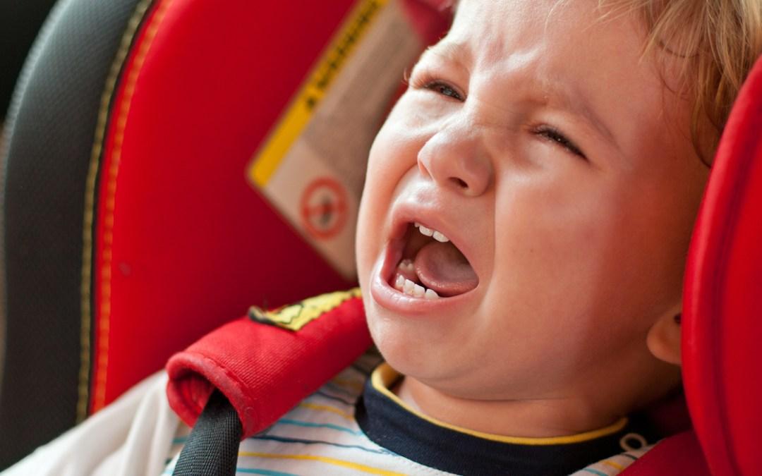 E se il bambino piange in viaggio, che fare?