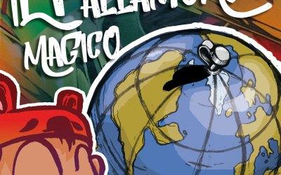 Il Pallamondo magico – Street art per bambini