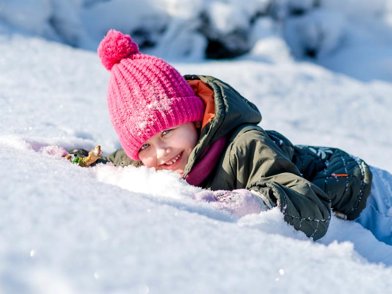 GG montagna e neve con i bambini3