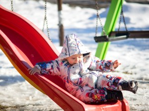 GG montagna e neve con i bambini5