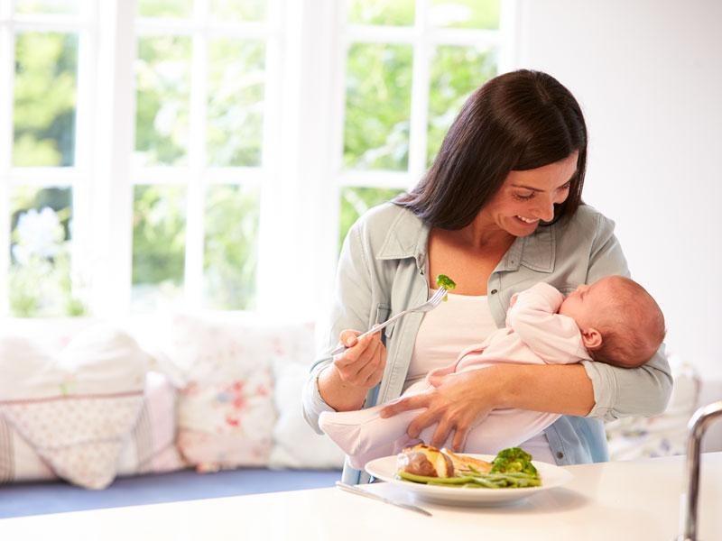 L'alimentazione nel dopo parto