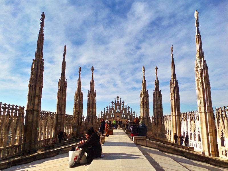 Visitare Milano dall'alto, con i bambini