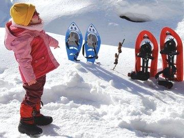 La neve di Cogne e la prima ciaspolata