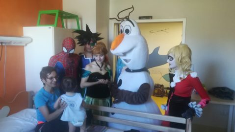 Al Regina Margherita arrivano i cosplayer di Torino Comics