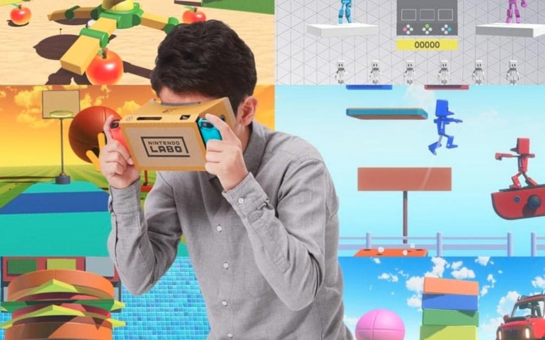 Nintendo Lab VR: cosa devono sapere i genitori sulla realtà virtuale