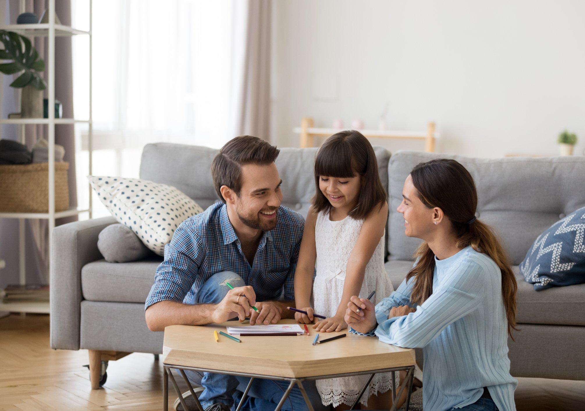 affrontare i problemi in famiglia
