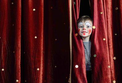 Laboratorio di teatro ad altezza di bambino
