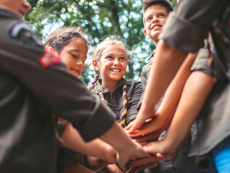 Perché scegliere gli Scout per i figli