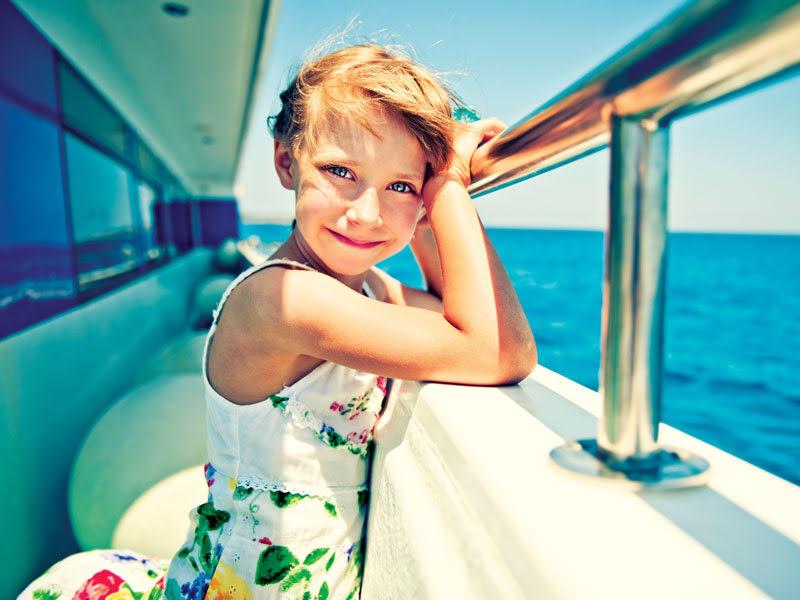 Viaggio in nave con i bambini: per le lunghe tratte è meglio