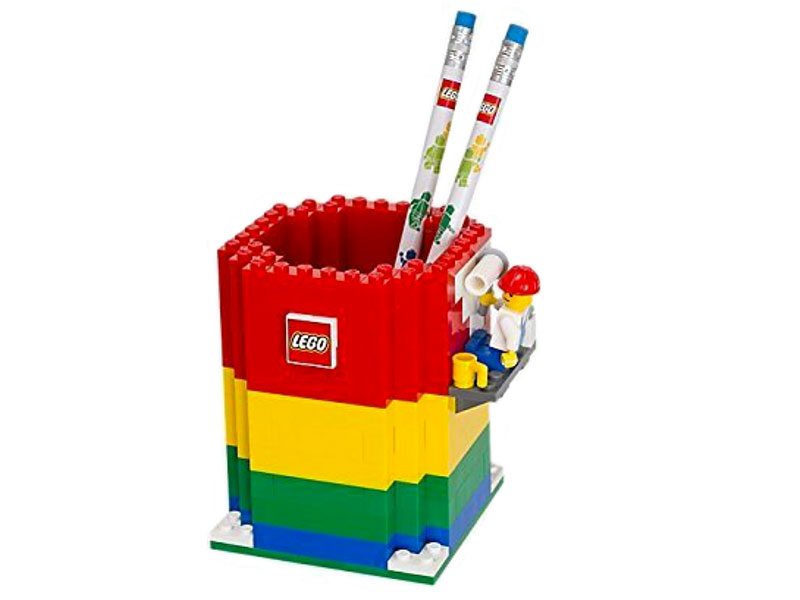 Festa del papà - LEGO idee creative - portapenne giovanigenitori.it