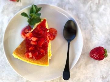 New York Cheesecake alle fragole
