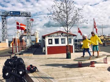 Un viaggio in famiglia da Berlino a Copenaghen, in bici e tenda