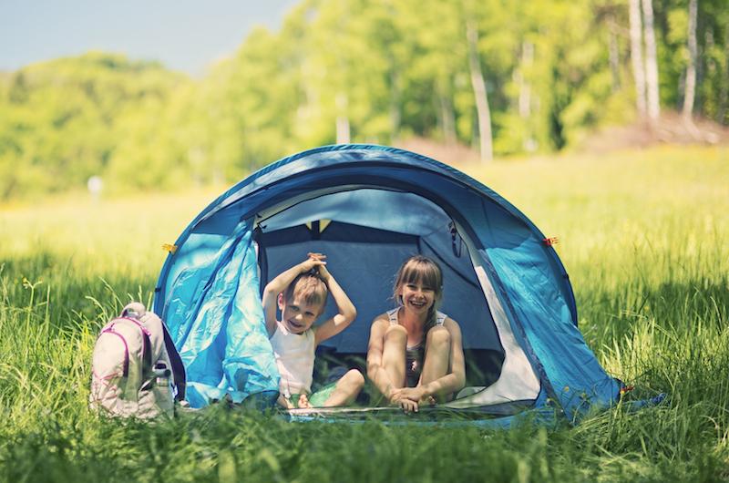 Come scegliere la tenda da campeggio per tutta la famiglia