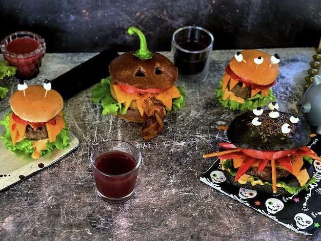 La ricetta di Halloween: il Monster Burger