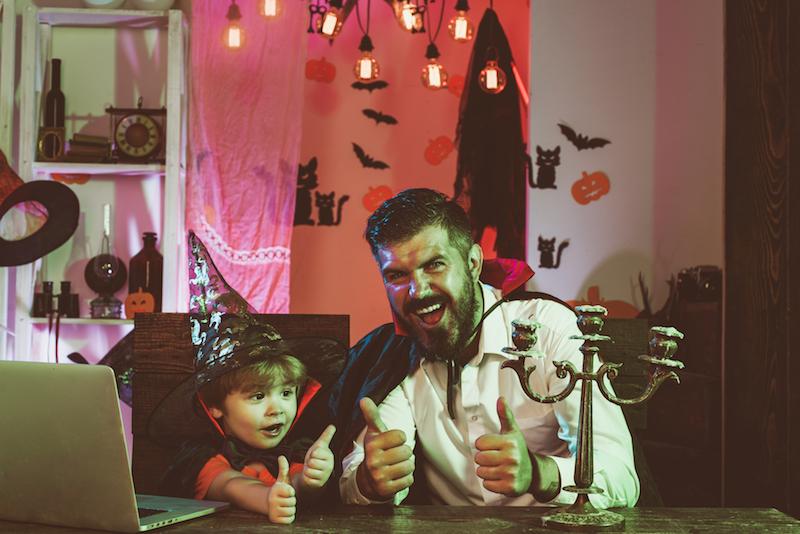 festa Halloween con covid