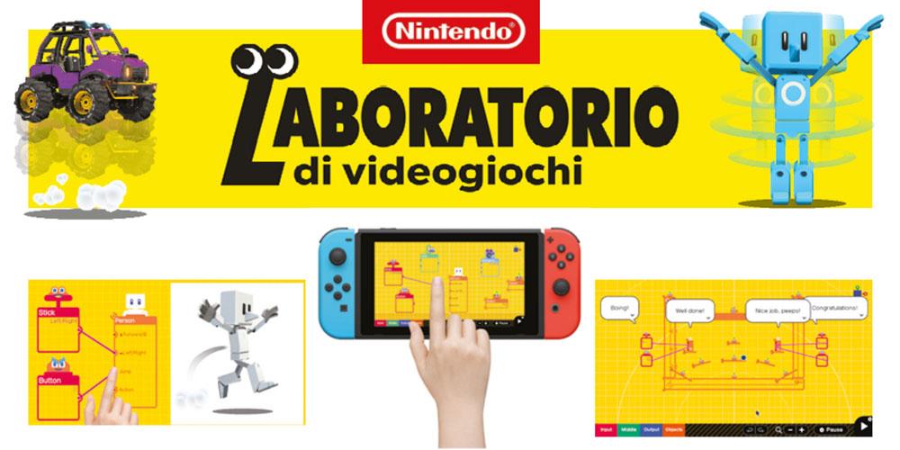 laboratorio videogiochi
