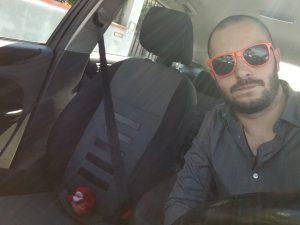 Giovanni e mozzy in auto