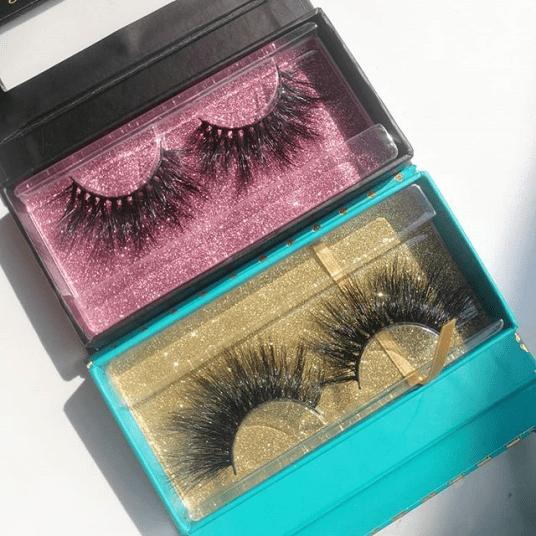 Custom Lash Boxes wholesale eyelash packaging