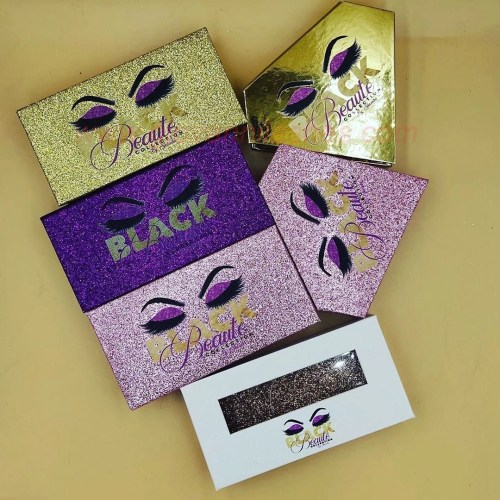 Customized packaging of eyelashes made of special paper makes it easier to make your brand unique.